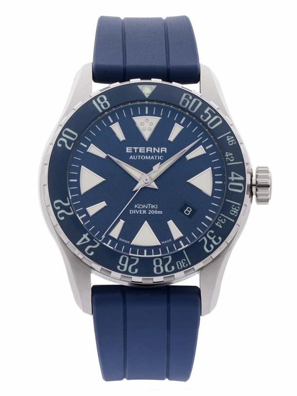 Eterna KonTiki Diver Blue Rubber 1290.41.89.1418