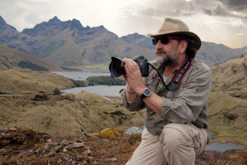 Jindřich Böhm - vrakový potápěč, fotograf a kameraman