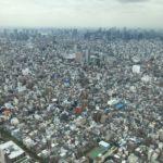 Tokio ze Sky Tree. Je to fakt vysoko…
