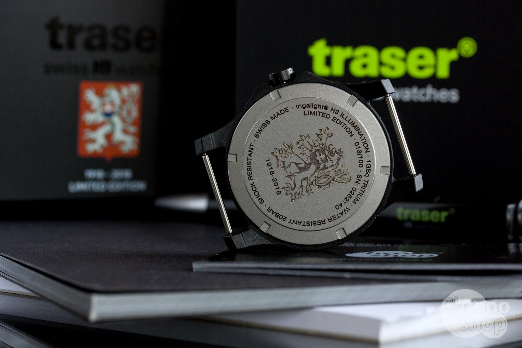 Traser P66 ČSR 100 L.E.